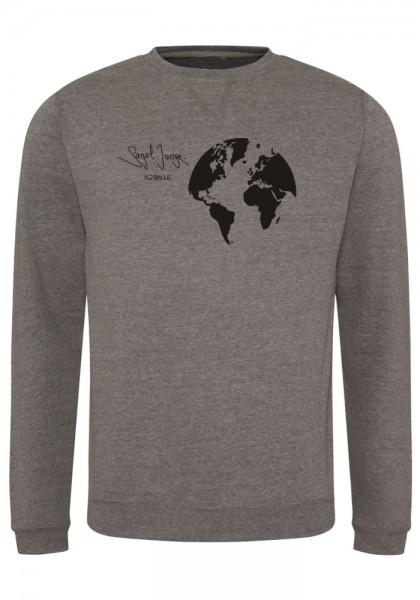 Segeljungs Herren Sweatshirt - Segel Junge - grau