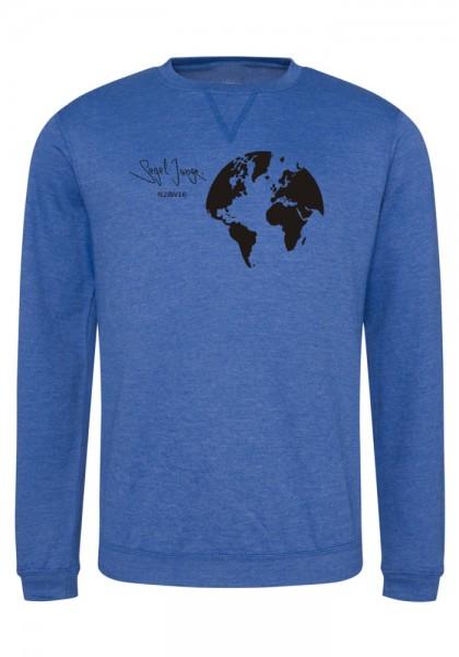Segeljungs Herren Sweatshirt - Segel Junge - blau