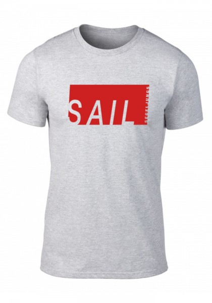 Segeljungs Herren Shirt - Sail - grau